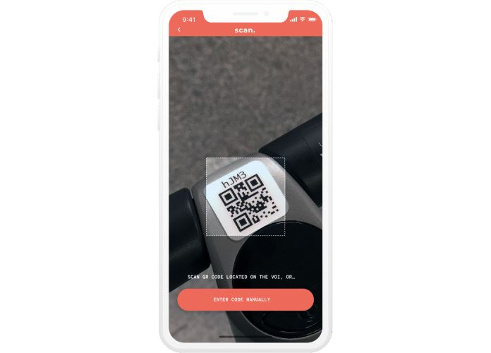 VOI App QR-Code