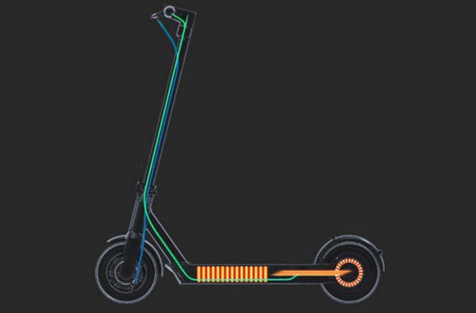 Heckantrieb e-Scooter Segway-Ninebot MAX